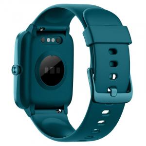 "Smartwatch Ulefone Watch Turcoaz, TFT 1.3"" touch screen, Ritm cardiac, Monitorizare Menstruatie, Waterproof, Bluetooth v5.0, 210mAh2"