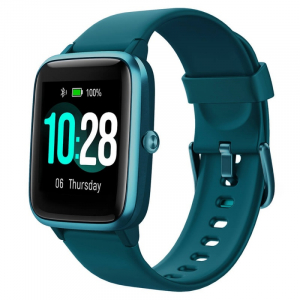 "Smartwatch Ulefone Watch Turcoaz, TFT 1.3"" touch screen, Ritm cardiac, Monitorizare Menstruatie, Waterproof, Bluetooth v5.0, 210mAh0"
