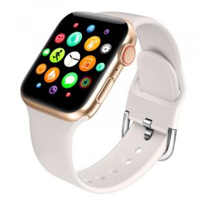 "Smartwatch Xiaomi Mi KU1 Pro Gold, TFT 1.54"" HD, Apelare prin bluetooth, 128MB ROM, Nivel oxigen in sange, Presiune sanguina, IP671"