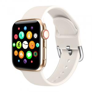 "Smartwatch Xiaomi Mi KU1 Pro Gold, TFT 1.54"" HD, Apelare prin bluetooth, 128MB ROM, Nivel oxigen in sange, Presiune sanguina, IP670"