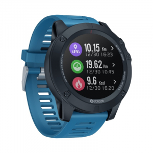 "Smartwatch Zeblaze Vibe 3 GPS, IPS 1.3"", GPS, Ritm cardiac, Calorii, Meteo, Bluetooth, Waterproof, 280mAh, Albastru2"