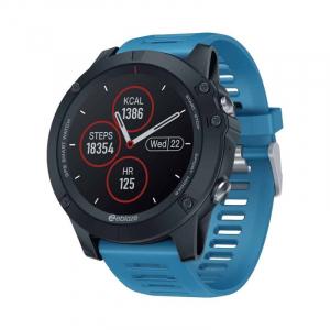 "Smartwatch Zeblaze Vibe 3 GPS, IPS 1.3"", GPS, Ritm cardiac, Calorii, Meteo, Bluetooth, Waterproof, 280mAh, Albastru0"