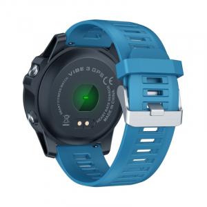 "Smartwatch Zeblaze Vibe 3 GPS, IPS 1.3"", GPS, Ritm cardiac, Calorii, Meteo, Bluetooth, Waterproof, 280mAh, Albastru3"