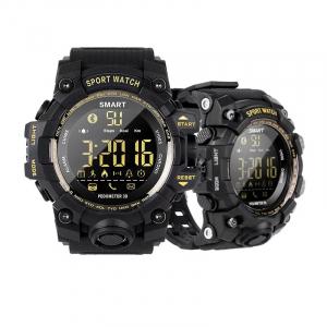 Smartwatch STAR EX16S, LCD FSTN iluminat, Waterproof IP67, Bluetooth v4.0, Baterie CR2032, Negru2