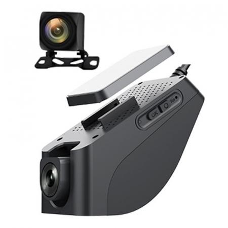 """Camera auto DVR STAR K19 FHD, 4G, Display 1.5"""", GPS tracker, Wi-Fi Hotspot, Monitorizare parcare, Live view, Camera fata/spate, Aplicatie0"""