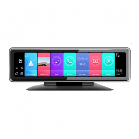 "Oglinda retrovizoare / navigator Star T88 DVR, 4G, Display 12"", Android 9, 2GB RAM 32GB ROM, Flota, GPS, ADAS, Night vision, 4 Camere1"