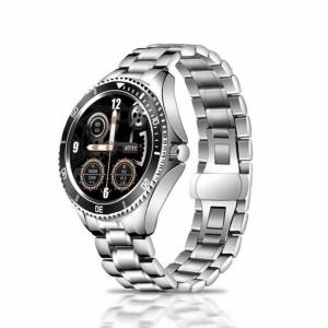 "Smartwatch STAR Z69 Negru, Bratara metal, TFT 1.28"", Bluetooth v5.1, Ritm cardiac,Presiune sanguina, Monitorizare menstruatie, IP65, 350mAh0"