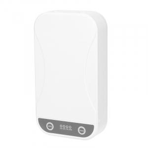 Sterilizator UV cu ozon multi-functional portabil STAR cu aromatherapy reincarcabil cu incarcator wireless si notificare vocala, Alb0