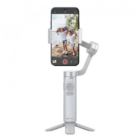 Stabilizator gimbal pliabil pe 3 axeFunSnap Capture π pentru smartphone, Giroscop, Bluetooth, Carcasa metalica, 4500mAh0