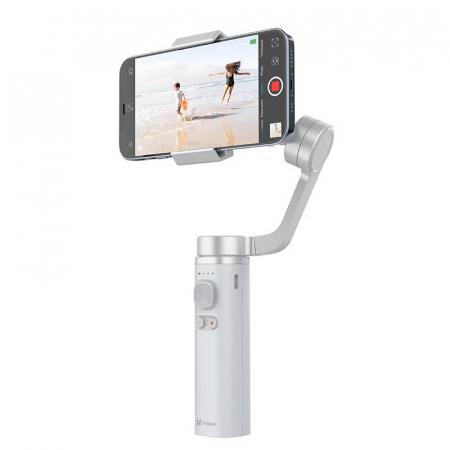 Stabilizator gimbal pliabil pe 3 axeFunSnap Capture π pentru smartphone, Giroscop, Bluetooth, Carcasa metalica, 4500mAh2