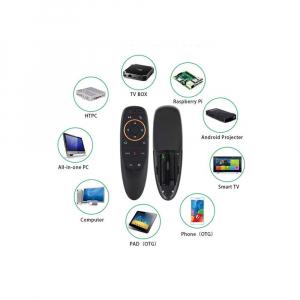 Telecomanda/Mouse wireless (2.4G) cu control vocal Jckel G10 cu giroscop pentru Android TV Box3