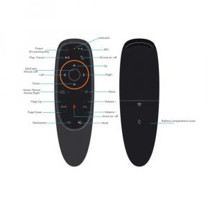 Telecomanda/Mouse wireless (2.4G) cu control vocal Jckel G10 cu giroscop pentru Android TV Box4