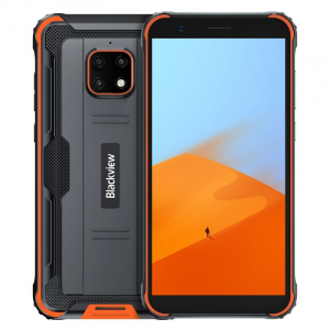 "Telefon mobil Blackview BV4900, 4G, IPS 5.7"", 3GB RAM, 32GB ROM, Android 10, Helio A22 QuadCore, NFC, 5580mAh, Dual SIM, Orange0"