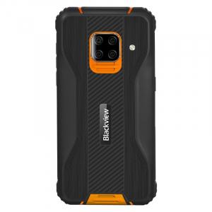 "Telefon mobil Blackview BV5100 Orange, 4G, IPS 5.7"", 4GB RAM, 128GB ROM, Android 10, Helio P22, NFC, Incarcare wireless, 5580mAh, Dual SIM1"