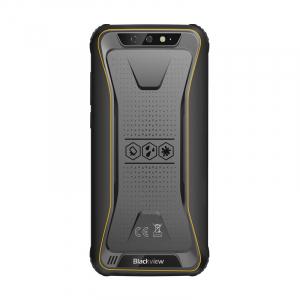 Telefon mobil Blackview BV5500, 3G, IPS 5.5inch, Android 8.1, 2GB RAM, 16GB ROM, MTK6580P QuadCore, 4400mAh, Dual SIM, Waterproof, Galben1
