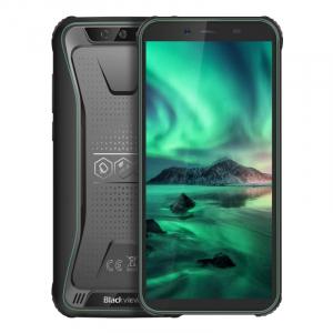 Telefon mobil Blackview BV5500 Plus, 4G, IPS 5.5inch, 3GB RAM, 32GB ROM, Android 10,MT6739 QuadCore, IP68, 4400 mAh, Dual SIM, Verde0