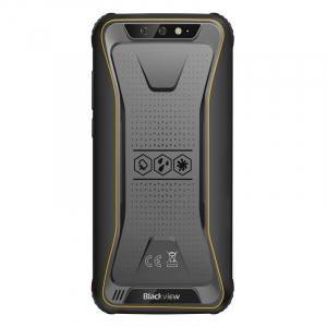 Telefon mobil Blackview BV5500 Plus, 4G, IPS 5.5inch, 3GB RAM, 32GB ROM, Android 10,MT6739 QuadCore, IP68, 4400 mAh, Dual SIM, Galben2