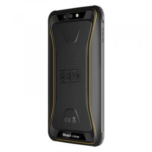 Telefon mobil Blackview BV5500 Plus, 4G, IPS 5.5inch, 3GB RAM, 32GB ROM, Android 10,MT6739 QuadCore, IP68, 4400 mAh, Dual SIM, Galben3
