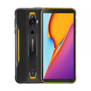 "Telefon mobil Blackview BV6300, 4G, IPS 5.7"", 3GB RAM, 32GB ROM, Android 10, Helio A25 OctaCore, IP69K, 4380mAh, Dual SIM, Galben0"