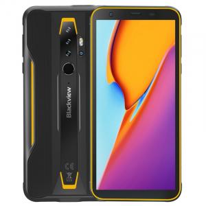 "Telefon mobil Blackview BV6300 Pro, 4G, IPS 5.7"", 6GB RAM, 128GB ROM, Android 10, Helio P70 OctaCore, IP69K, 4380mAh, Dual SIM, Galben0"