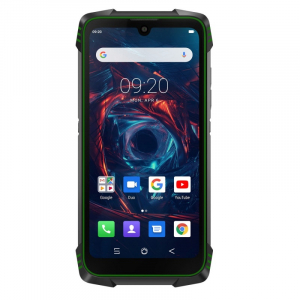 Telefon mobil Blackview BV6900, 4G, IPS 5.84inch, 4GB RAM, 64GB RAM, Android 9.0, Helio P25 OctaCore, Waterproof, 5580mAh, Dual SIM, Verde0