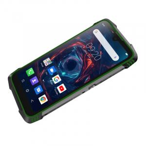 Telefon mobil Blackview BV6900, 4G, IPS 5.84inch, 4GB RAM, 64GB RAM, Android 9.0, Helio P25 OctaCore, Waterproof, 5580mAh, Dual SIM, Verde2