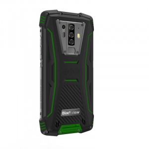 Telefon mobil Blackview BV6900, 4G, IPS 5.84inch, 4GB RAM, 64GB RAM, Android 9.0, Helio P25 OctaCore, Waterproof, 5580mAh, Dual SIM, Verde1