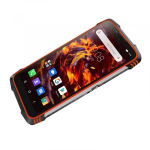 Telefon mobil Blackview BV6900, 4G, IPS 5.84inch, 4GB RAM, 64GB RAM, Android 9.0, Helio P25 OctaCore, Waterproof, 5580mAh, Dual SIM, Orange2