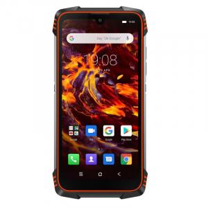 Telefon mobil Blackview BV6900, 4G, IPS 5.84inch, 4GB RAM, 64GB RAM, Android 9.0, Helio P25 OctaCore, Waterproof, 5580mAh, Dual SIM, Orange0