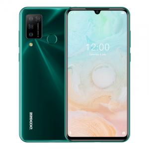 """Telefon mobil Doogee N20 Pro, 4G, IPS 6.3"""" Waterdrop, 6GB RAM, 128GB ROM, Android 10, Helio P60, 4400mAh, Dual SIM, Verde0"""