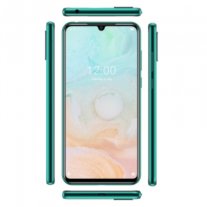"""Telefon mobil Doogee N20 Pro, 4G, IPS 6.3"""" Waterdrop, 6GB RAM, 128GB ROM, Android 10, Helio P60, 4400mAh, Dual SIM, Verde3"""