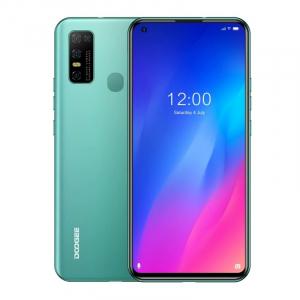 "Telefon mobil Doogee N30, 4G, IPS 6.55"", 4GB RAM, 128GB ROM, Android 10, Helio A25 OctaCore, Incarcare rapida 10W, 4500mAh, Verde0"