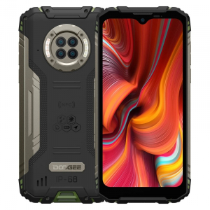 """Telefon mobil Doogee S96 Pro Verde, 4G, LCD 6.22"""", 8GB RAM, 128GB ROM, Infrared Night Vision, Android 10, Helio G90 OctaCore, NFC, 6350mAh0"""