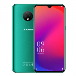 Telefon mobil Doogee X95, 4G, IPS 6.52inch, 2GB RAM, 16GB ROM, Android 10, MTK6737T QuadCore, IP68, 4350mAh, Dual SIM, Verde0