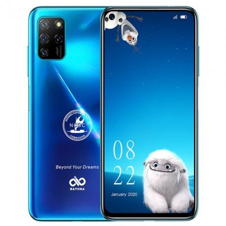 "Telefon mobil Elephone U5 Albastru, 4G, 6.4"" FHD+ perforat, 4GB RAM, 128GB ROM, Android 10, Helio P60 OctaCore, NFC, 4000mAh, Dual SIM0"