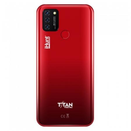 "Telefon mobil iHunt Titan P4000 Pro 2021 Rosu, 4G, IPS 6.53"", 2GB RAM, 32GB ROM, Android 10 GO,Spreadtrum SC9832E, 4000mAh, Dual SIM2"