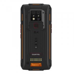 "Telefon mobil modular Oukitel WP7, 4G, IPS 6.53"", 8GB RAM, 128GB ROM, Helio P90 OctaCore, NFC, IP68, 8000mAh, Dual SIM, Orange2"