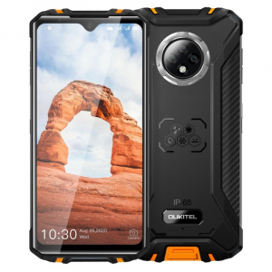 "Telefon mobil Oukitel WP8 Pro, 4G, IPS 6.49"" Waterdrop, 4GB RAM, 64GB ROM, MediaTek MT6762D OctaCore, NFC, 5000mAh, Dual SIM, Orange0"