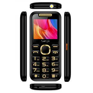 """Telefon mobil Samgle Halo, 3G, TFT 2.0"""" color, Camera 2.0MP, Bluetooth, FM, Lanterna, 3000mAh, Dual SIM, Stand incarcare cadou, Negru3"""