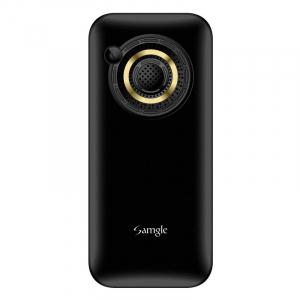 """Telefon mobil Samgle Halo, 3G, TFT 2.0"""" color, Camera 2.0MP, Bluetooth, FM, Lanterna, 3000mAh, Dual SIM, Stand incarcare cadou, Negru2"""