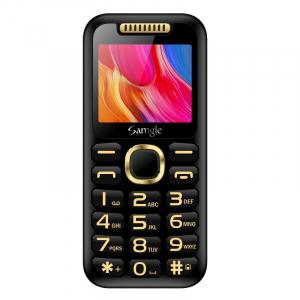 """Telefon mobil Samgle Halo, 3G, TFT 2.0"""" color, Camera 2.0MP, Bluetooth, FM, Lanterna, 3000mAh, Dual SIM, Stand incarcare cadou, Negru1"""