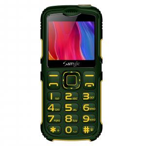 """Telefon mobil Samgle Armor, 3G, QVGA 2.0"""" color, Camera 2.0MP, Bluetooth, FM, Lanterna, 3000mAh, Dual SIM, Stand incarcare cadou, Verde1"""