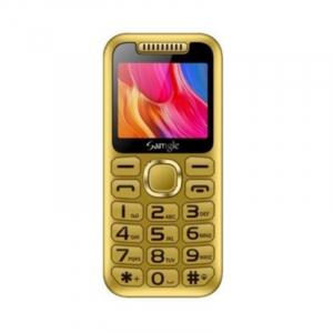 """Telefon mobil Samgle Halo, 3G, TFT 2.0"""" color, Camera 2.0MP, Bluetooth, FM, Lanterna, 3000mAh, Dual SIM, Stand incarcare cadou, Gold1"""