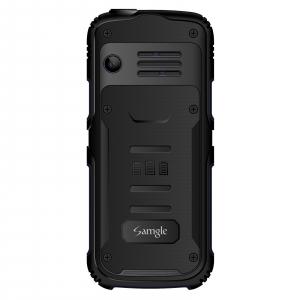 """Telefon mobil Samgle Armor, 3G, QVGA 2.0"""" color, Camera 2.0MP, Bluetooth, FM, Lanterna, 3000mAh, Dual SIM, Stand incarcare cadou, Negru2"""