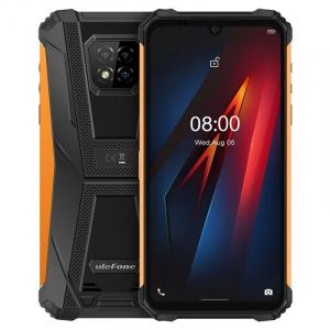 "Telefon mobil Ulefone Armor 8, 4G, IPS 6.1"", 4GB RAM, 64GB ROM, Android 10, Helio P60, Camera submersibila, 5580mAh, Dual SIM, Orange0"