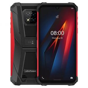 "Telefon mobil Ulefone Armor 8, 4G, IPS 6.1"", 4GB RAM, 64GB ROM, Android 10, Helio P60, Camera submersibila, 5580mAh, Dual SIM, Rosu0"