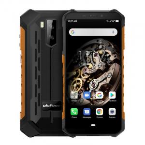 Telefon mobil Ulefone Armor X5, 4G, IPS 5.5inch, 3GB RAM, 32GB ROM, Android 10.0, MT6762OctaCore, Waterproof, 5000mAh, Dual SIM, Orange0