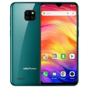 Telefon mobil Ulefone Note 7, IPS 6.1inch, 1GB RAM, 16GB ROM, Android 8.1 GO, MT6580 QuadCore, 3500mAh, Dual SIM, Verde0