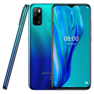 "Telefon mobil Ulefone Note 9P, 4G, 6.52"" Waterdrop, 4GB RAM, 64GB ROM, Android 10, Helio P22 OctaCore, 4500mAh, Dual SIM, Albastru4"