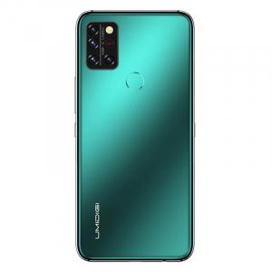 "Telefon mobil UMIDIGI A9 Pro Verde, 4G, Termometru non-contact, 6.3"" FHD+, 6GB RAM, 128GB ROM, Android 10, Helio P60, Dual SIM, 4150mAh2"